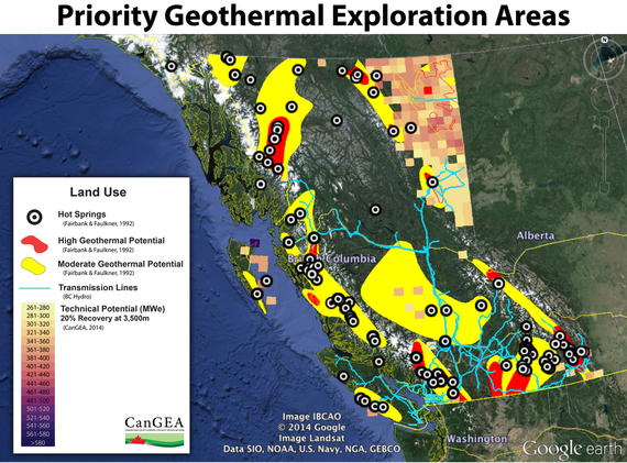 BC Geothermal Resource Estimate Maps - Canadian Geothermal Energy ...